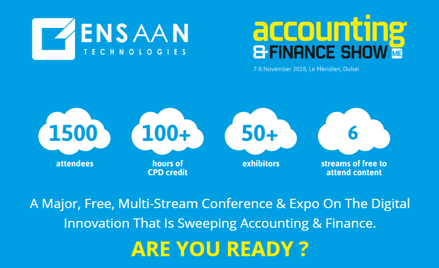 Accounting & Finance Show – Middle East 2018