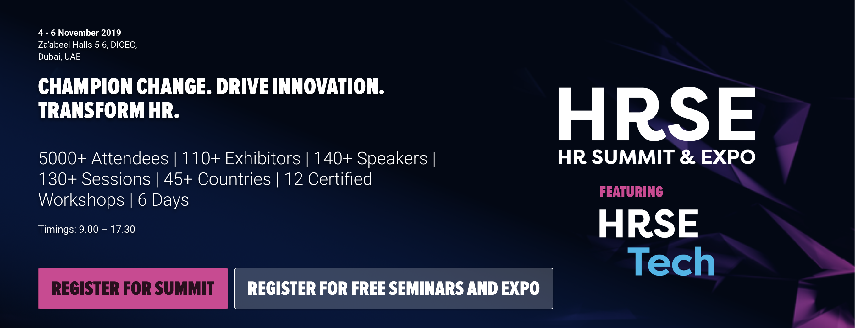 HRSE HR Summit Expo 2019